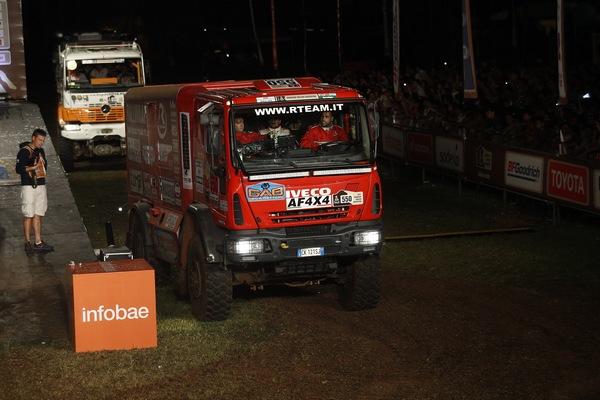 Dakar 2017 - Camion Assistenza