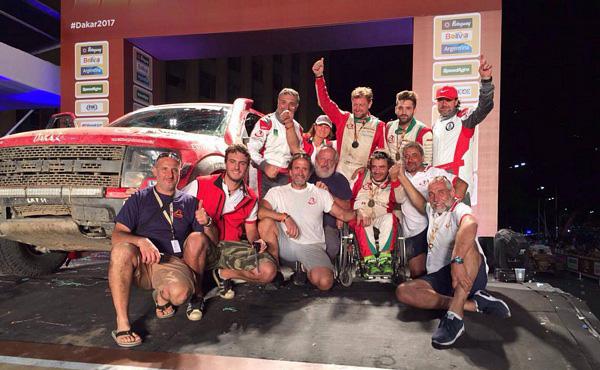 Dakar 2017 - Podio Finale