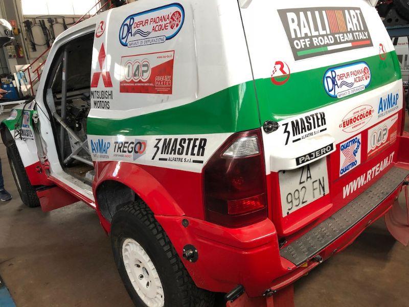 PAJERO WRC LS