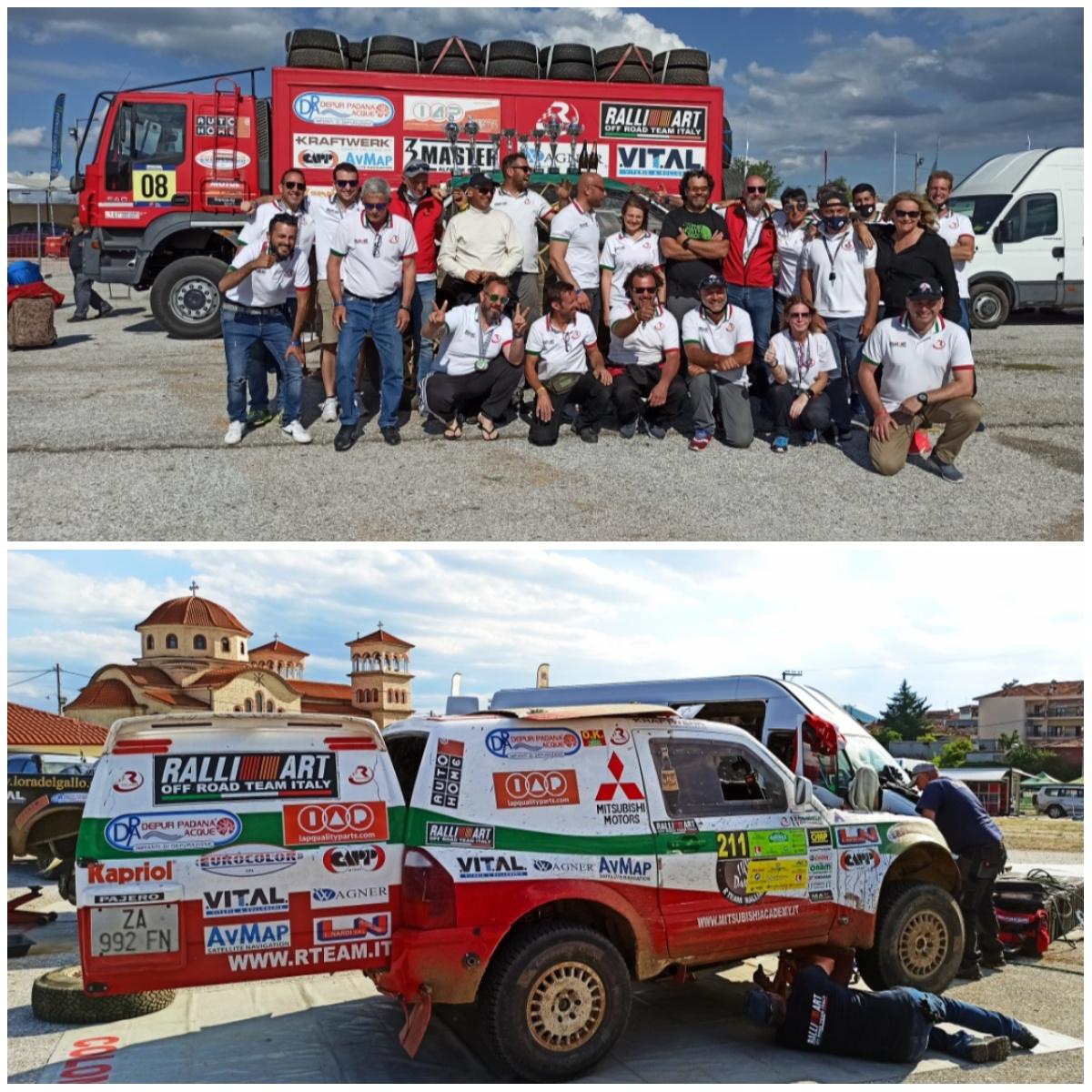 Galletti-Maroni nell'Olimpo al Rally Greece Offroad 2021