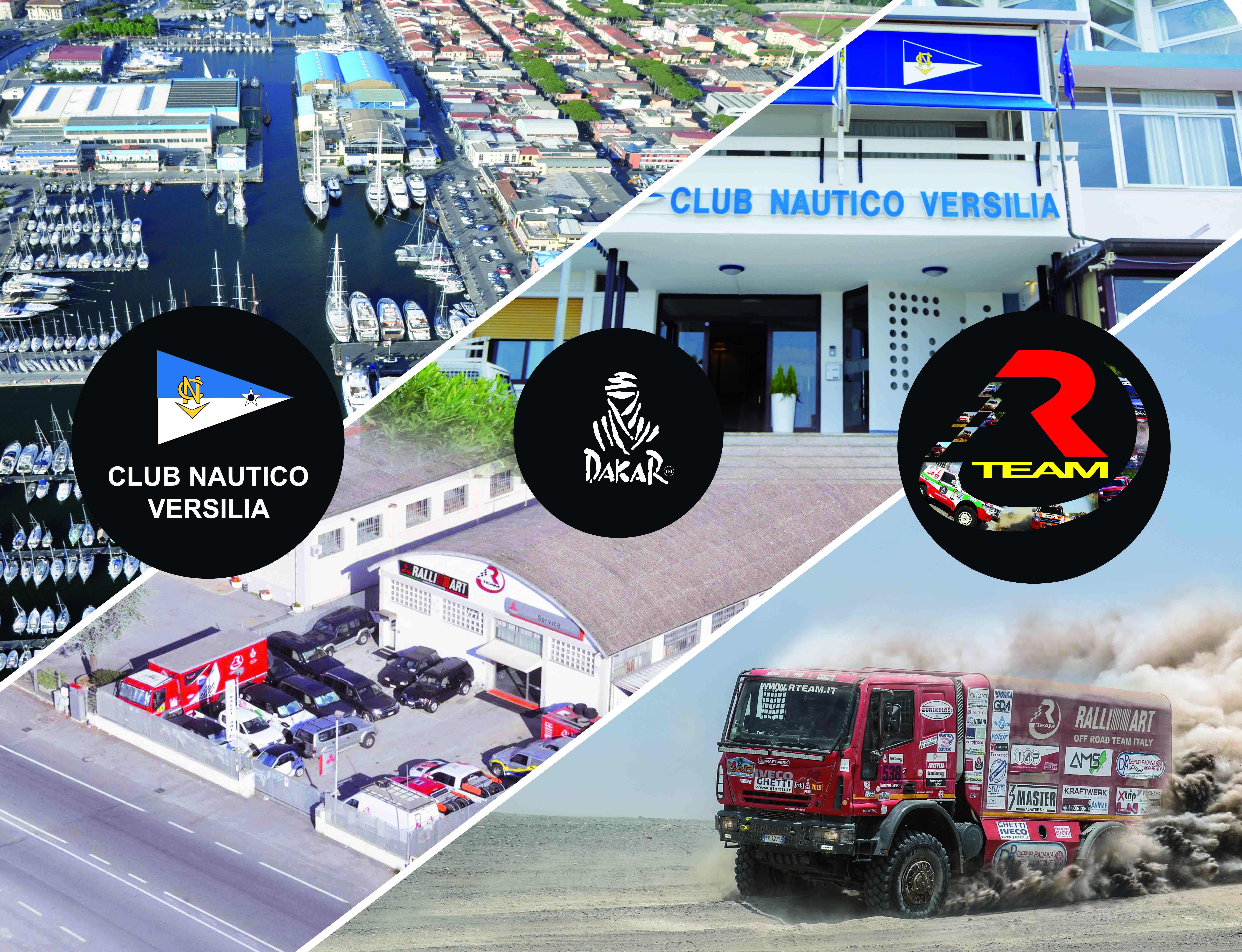 CLUB NAUTICO VERSILIA e R TEAM presentano la DAKAR 2020
