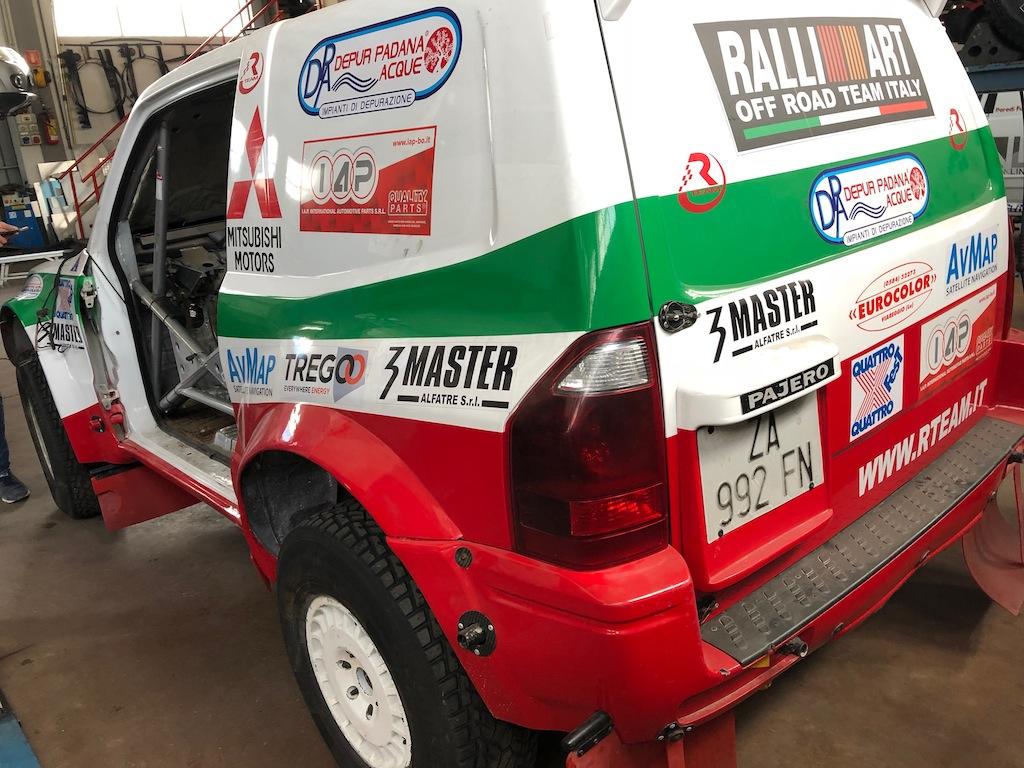 NUOVO MOTORE LS1 V8 380 CV SUL PAJERO WRC