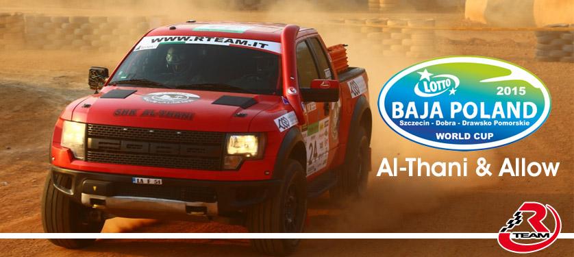 Al-Thani e Allow su Raptor R-Team pronti per la Baja Poland