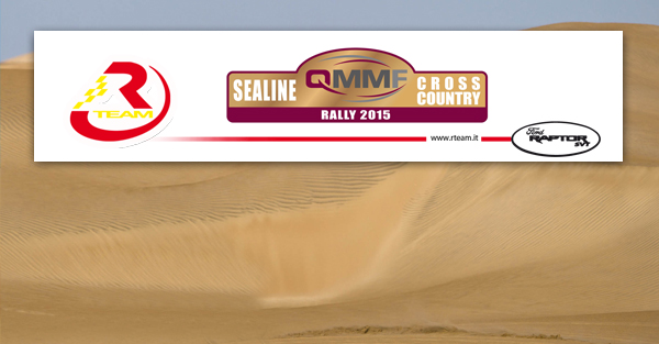 RTeam in Qatar per il Sealine Cross-Country Rally con 2 equipaggi internazionali