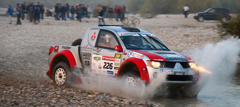 R Team - Ralliart presente all'Italian Baja con ben 7 equipaggi
