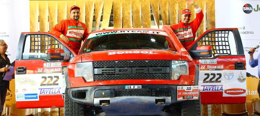 R TEAM conquista l'Italian Baja con Borsoi e continua la scalata mondiale con Al-Thani